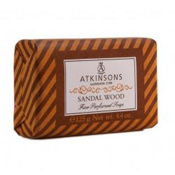 ATKINSONS PASTILLA JABON SANDAL WOOD 125 GR