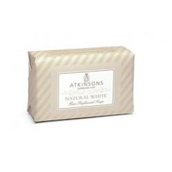ATKINSONS PASTILLA JABON NATURAL WHITE 125 GR