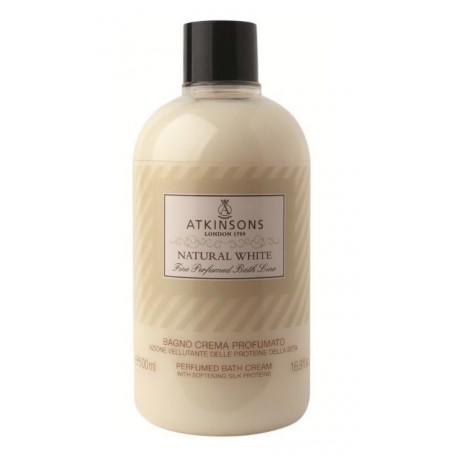 ATKINSONS ESPUMA DE BAÑO NATURAL WHITE 500 ML danaperfumerias.com/es/