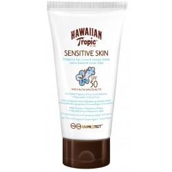 HAWAIIAN TROPIC SENSITIVE SKIN BODY SUN LOCION SPF50 90ML danaperfumerias.com/es/