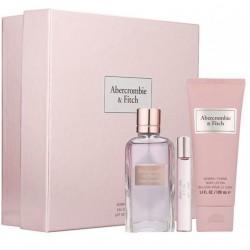 comprar perfumes online ABERCROMBIE & FITCH FIRST INSTINCT WOMAN EDP 100 M+ 15 ML + B/LOC 200 ML SET REGALO mujer