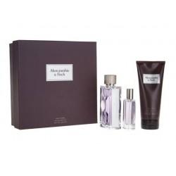 comprar perfumes online hombre ABERCROMBIE & FITCH FIRST INSTINCT EDT 100 ML + MINI 15 ML +BODY WASH 200 ML SET REGALO