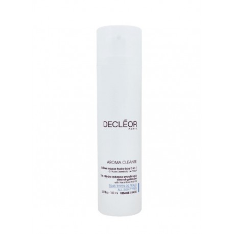 DECLEOR AROMA CLEANSE 3 IN 1 HYDRA-RADIANCE SMOOTHING & CLEANSING MOUSSE WITH NEROLI 100 ML