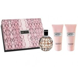 comprar perfumes online JIMMY CHOO EDP 100 ML +BODY LOTION 100 ML + S/GEL 100 ML SET REGALO mujer