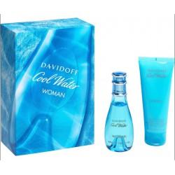 comprar perfumes online DAVIDOFF COOL WATER WOMAN EDT 30 ML + B/L 75 ML SET REGALO mujer