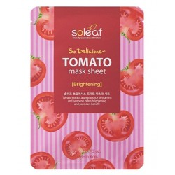SOLEAF SO DELICIOUS TOMATO MASK SHEET 25GR