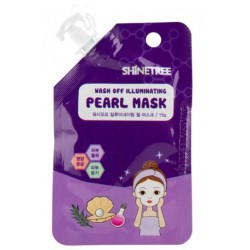 SHINETREE WASH OFF ILLUMINATING PEARL MASK 15GR