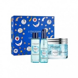 L'OCCITANE EN PROVENCE GEL AQUA RÉOTIER 50 ML + GEL LIMPIADOR 40 ML + ESENCIA HIDRATANTE 30 ML SET REGALO