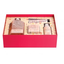 L'OCCITANE EN PROVENCE CHERRY BLOSSOM GEL 250 ML + JABÓN 50 GR+ LOCIÓN 75 ML + CREMA MANOS 30 ML SET REGALO