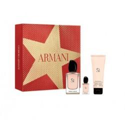 comprar perfumes online GIORGIO ARMANI SI EDP 50 ML + B/L 75 ML + MINI 7 ML SET REGALO mujer