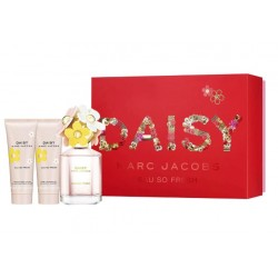 Comprar perfumes online set MARC JACOBS DAISY SO FRESH EDT 75 ML + B/L 75 ML + S/G 75 ML SET REGALO