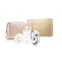 comprar perfumes online BVLGARI OMNIA CRYSTALLINE EDT 65 ML + B/L 75 ML + JABÓN 75 GR SET REGALO mujer
