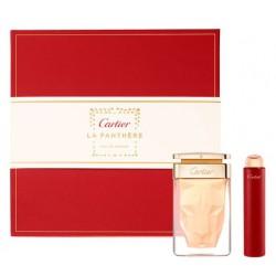 comprar perfumes online CARTIER LA PANTHERE EDP 75 ML + MINI 15 ML SET REGALO mujer