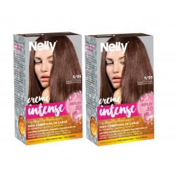 NELLY PACK TINTE 5/95 MARRÓN CHOCOLATE