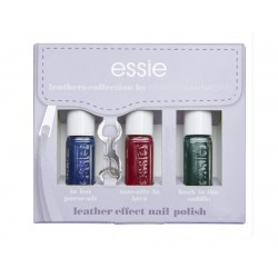 ESSIE SET ESMALTES LEATHERS COLLECTION BY REBECCA MINKOFF (3X5 ML)