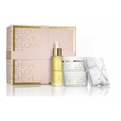 EVE LOM HOLIDAY TRULY RADIANCE (CLEANSER 50 ML + RADIANCE OIL 30 ML + MASK 50 ML + MUSLIN) SET REGALO