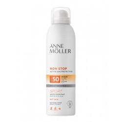 ANNE MOLLER NON STOP BRUMA CORPORAL INVISIBLE SPF 50 200 ML