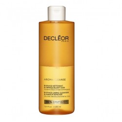 DECLEOR AROMA CLEANSE BI-PHASE CLEANSER & MAKE UP REMOVER 400 ML