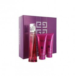 GIVENCHY VERY IRRESISTIBLE SENSUAL EDP 75 ML + B/L 75 ML + GEL 75 ML SET CAJA DAÑADA